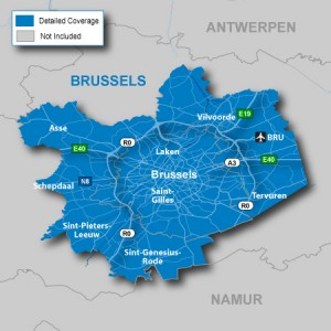 zones -intervention plomberie Bruxelles Brabant