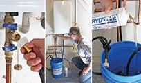 produits et processus détartrage chauffe eau